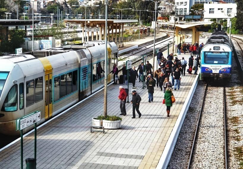 Ποια δρομολόγια τραίνων και προαστιακού σιδηροδρόμου ματαιώνονται σήμερα