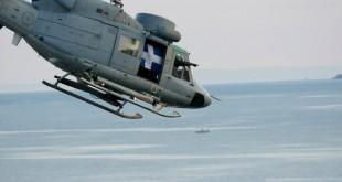 Συνετρίβη ελικόπτερο του Πολεμικού Ναυτικού - Τα συντρίμμια του βρέθηκαν στην νησίδα Κίναρο