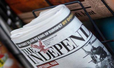 Ο Independent στην σύγχρονη εποχή: Καταργεί το έντυπο και στρέφεται αποκλειστικά στο ίντερνετ