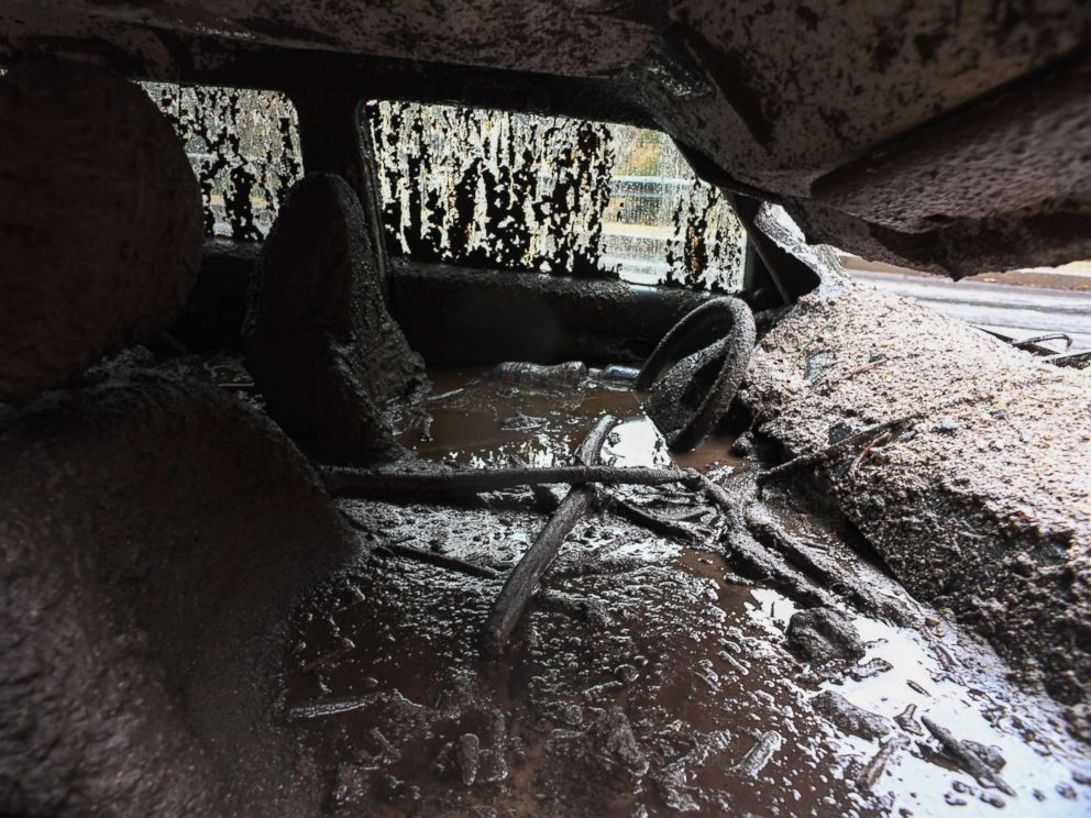 Image result for Images of Mudslides in CA Jan. 10, 2018