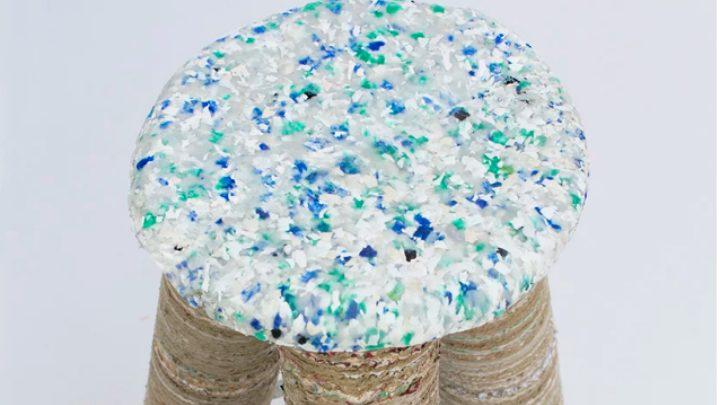 Charlotte Allen: Ένα designάτο σκαμπό από... ανακυκλώσιμα απορρίμματα