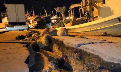 Άντεξε η Ζάκυνθος τα 6,4 Ρίχτερ που «χτύπησαν» το νησί- Καθίζηση στο λιμάνι και καταστροφές σε σπίτια- Κλειστά σήμερα τα σχολεία