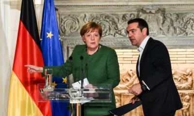 Ύμνοι της Μέρκελ για τον Τσίπρα με αφορμή τη συμφωνία των Πρεσπών – Τι είπε για τον Μητσοτάκη