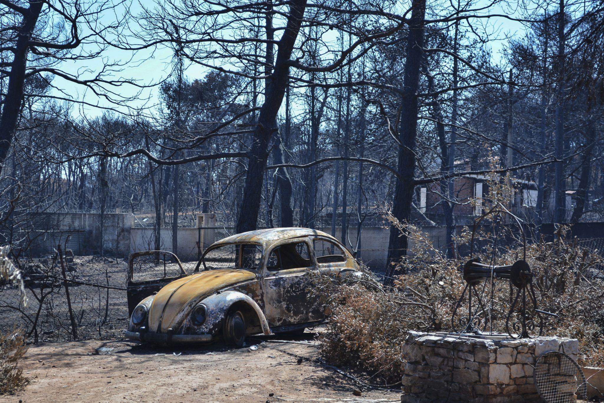 13bf8c63b4 Μάτι  Τοξική «βόμβα» το περιβάλλον μετά τη φονική πυρκαγιά