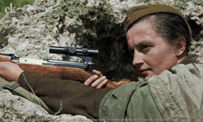«Κυρία του Θανάτου»: H πανέμορφη σοβιετική σκοπεύτρια που εξόντωσε 309 Ναζί και τρομοκράτησε τους Γερμανούς