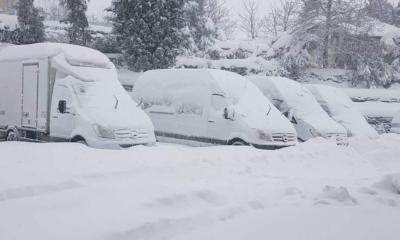Θα χιονίσει ακόμα και στα πεδινά της Αττικής, ενώ ο υδράργυρος θα φτάσει έως και τους -18 – Τη Δευτέρα το νέο κύμα του χιονιά