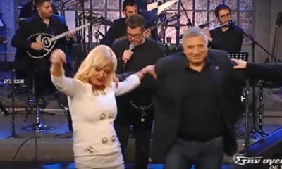 Η ζεϊμπεκιά του Γιώργου Πατούλη στην εκπομπή του Παπαδόπουλου και ο γρήγορος χορός της Μαρίνας (vid)