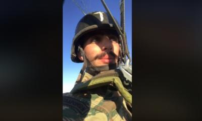 Το ΥΠΕΘΑ πήρε θέση για τον στρατιώτη με το αλεξίπτωτο! «Ποτέ δεν απαγορεύθηκε το εμβατήριο ''Μακεδονία Ξακουστή''»