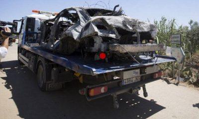 Συγκλονίζουν οι εικόνες από το τροχαίο του Ρέγιες- Συντρίμμια το αυτοκίνητο του