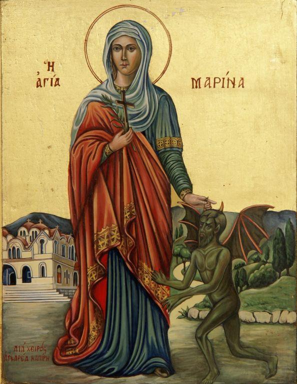 Αγία Μαρίνα: Ο μαρτυρικός θάνατος της πανέμορφης κόρης που νίκησε τον  διάβολο - TheCaller