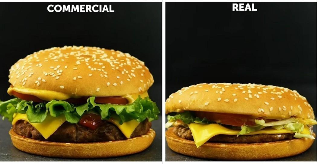 Η αλήθεια... πονάει: Έτσι εξαπατούν τους καταναλωτές οι διαφημίσεις φαγητών (vid)