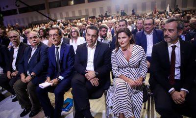 Εντυπωσιακή η Μπέτυ Μπαζιάνα στην ομιλία του Τσίπρα στη ΔΕΘ (ΕΙΚΟΝΕΣ)