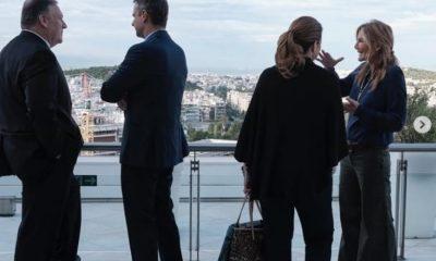 «Ανεπίτρεπτο για μια κομψή γυναίκα όπως εσείς…»: Η στυλιστική παρατήρηση στην Μαρέβα Μητσοτάκη, στην οποία απάντησε η σύζυγος του πρωθυπουργού (ΦΩΤΟ)