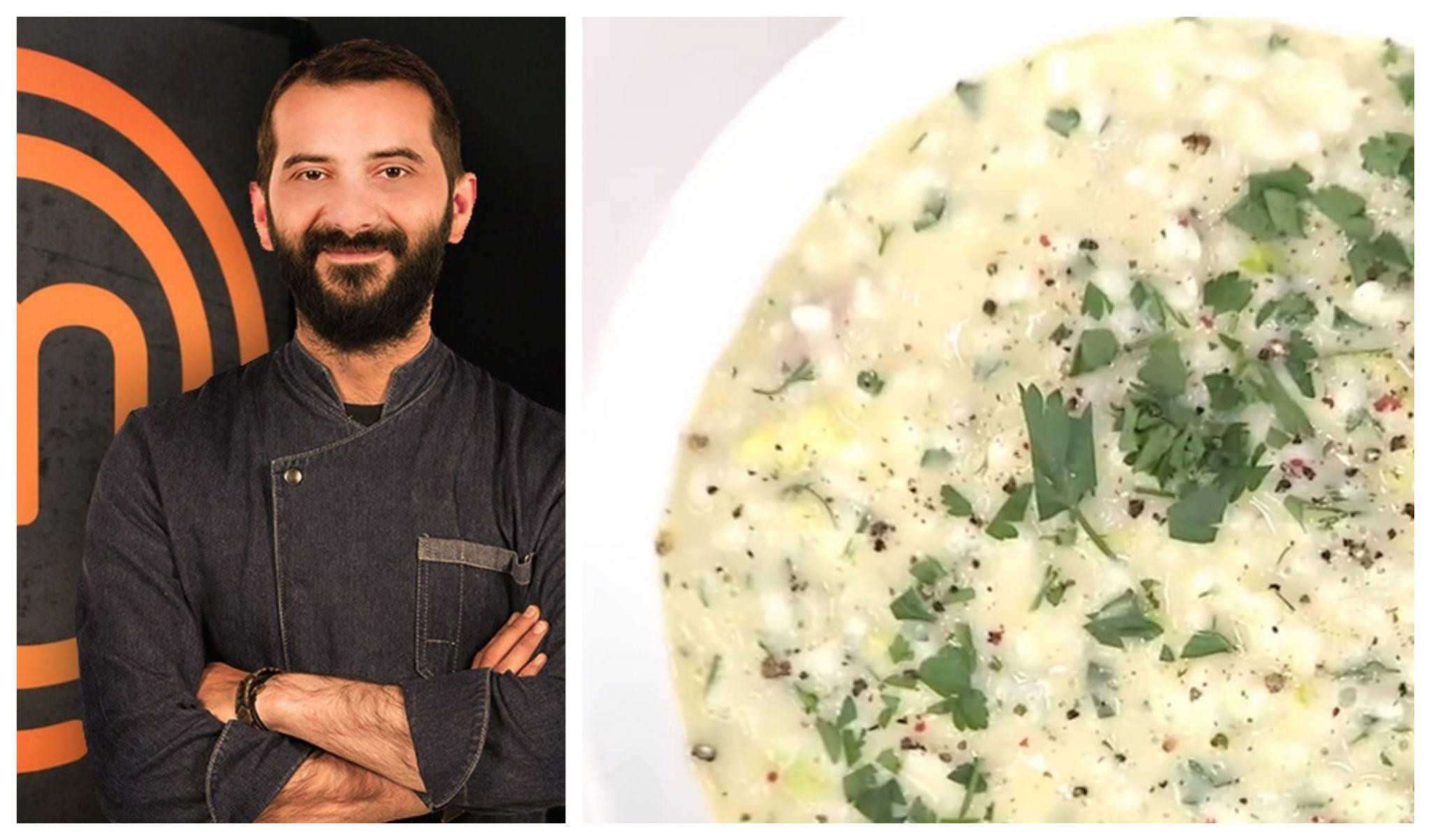 Ριζότο φρικασέ: Ο Λεωνίδας Κουτσόπουλος μας δείχνει πως να φτιάξουμε αυτή την απίθανη συνταγή (ΒΙΝΤΕΟ)